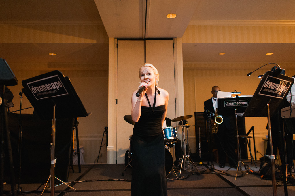 Hilton Garden Inn Southpointe Wedding Reception: City Heat Singer