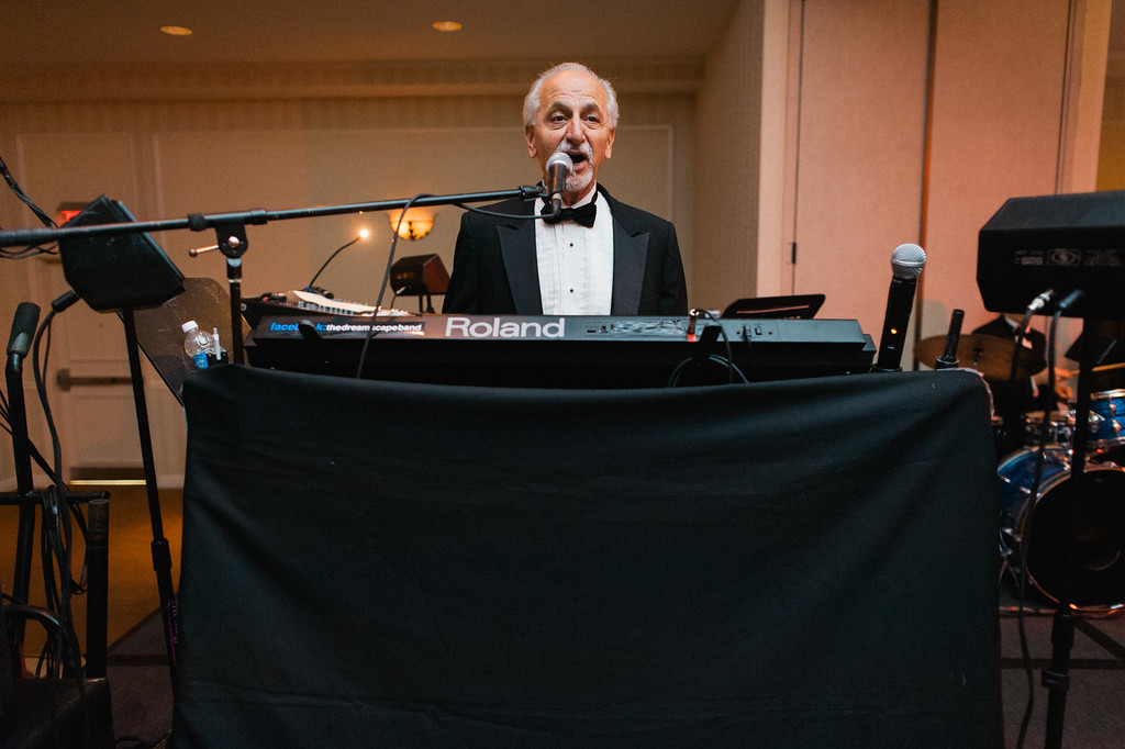 Hilton Garden Inn Southpointe Wedding Reception: Band Keyboardist