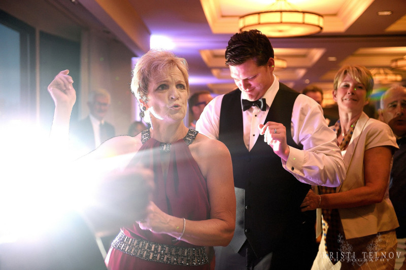 Renaissance Hotel Pittsburgh Wedding Reception: Guests Hit the Dance Floor