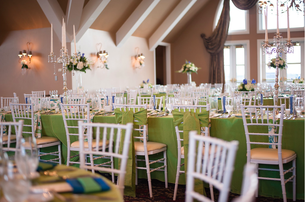 Nevillewood Country Club reception decor