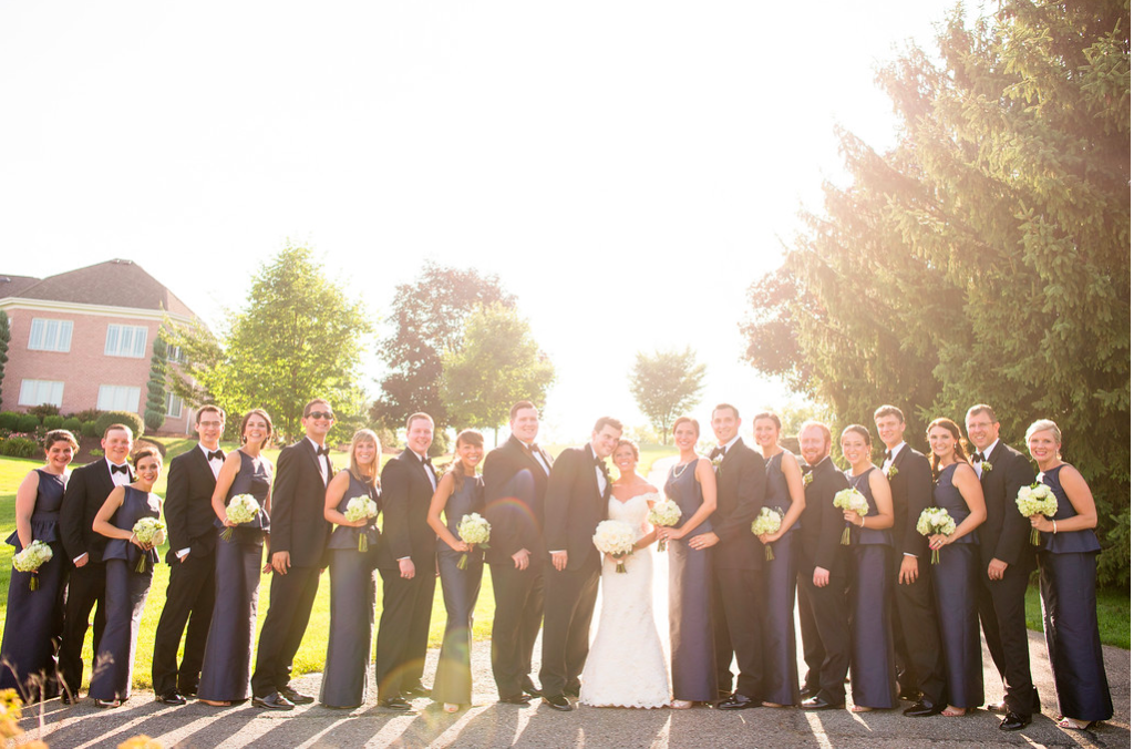 Nevillewood Bridal Party Group Photograph