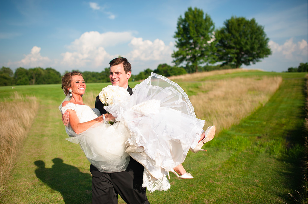 Nevillewood Country Club Wedding Bride and Groom Portrait