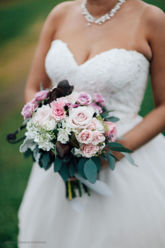 Rustic Acres Farm Countryside Bridal Bouquet Hydrangea