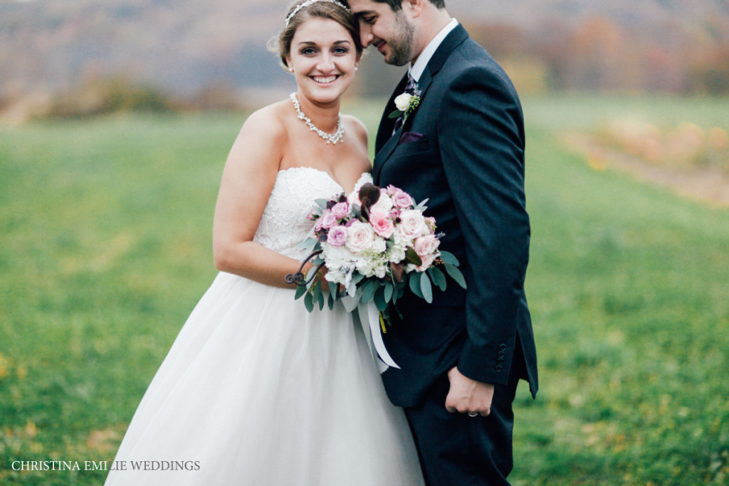 Rustic Acres Farm Pittsburgh Outdoor Countryside Bride and Groom Portrait