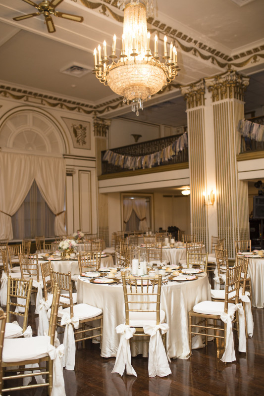 George Washington Hotel Glam Wedding Reception Venue