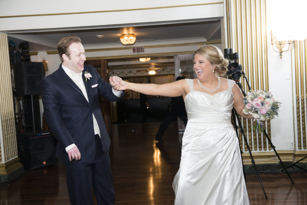 George Washington Hotel Pittsburgh Bride and Groom First Dance