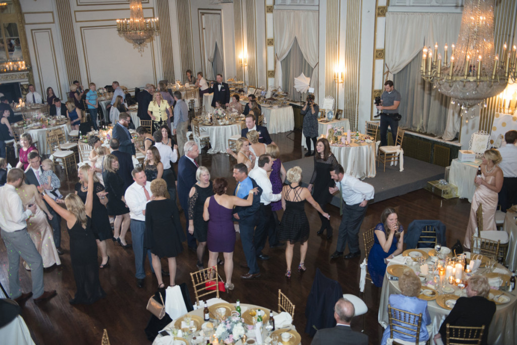 George Washington Hotel Pittsburgh Wedding Reception Dancing