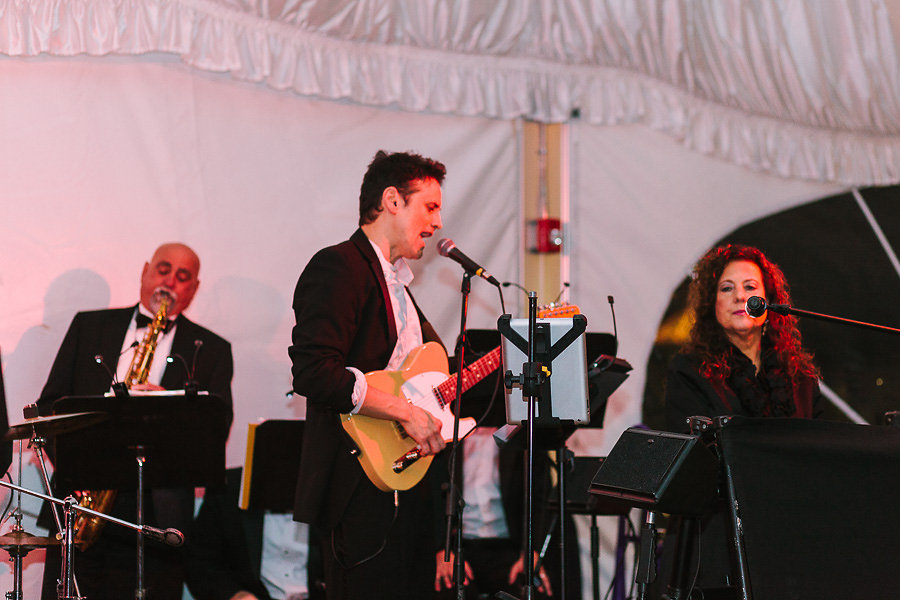 Wisp Resort McHenry MD City Heat Band Live Fall Wedding Reception