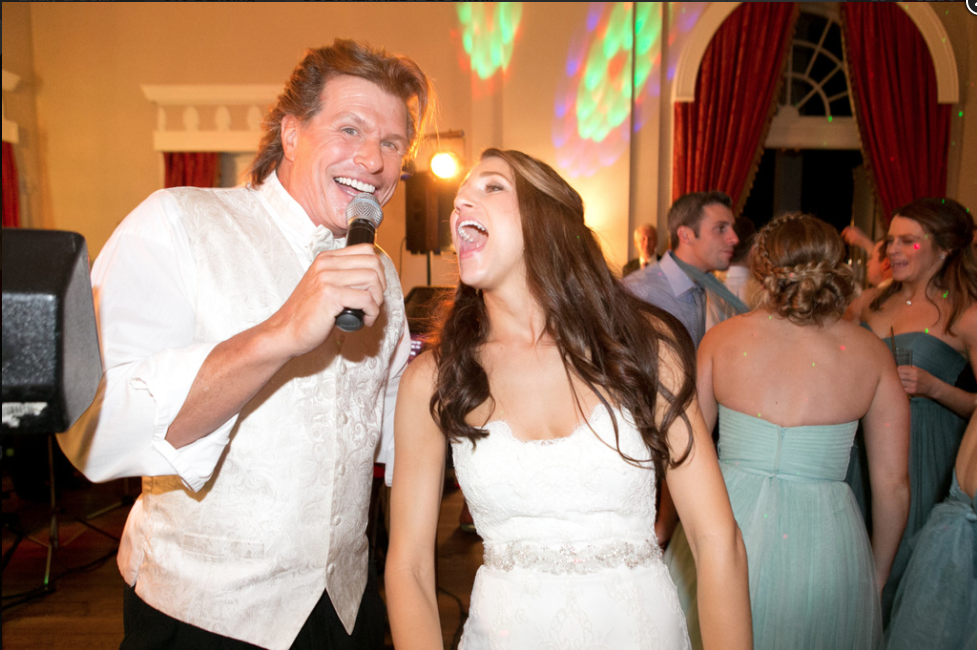 Fox Chapel Golf Club Pittsburgh Wedding Band Fun with Bride