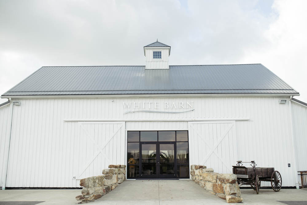 Pittsburgh White Barn Wedding Exterior Glam Rustic Weddings