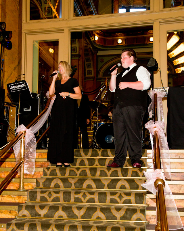 Grand Concourse Station Square Dreamscape Band Sings Live at Wedding Reception