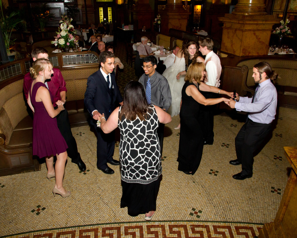 Grand Concourse Station Square Dreamscape Band Live at Reception with Guests Dancing