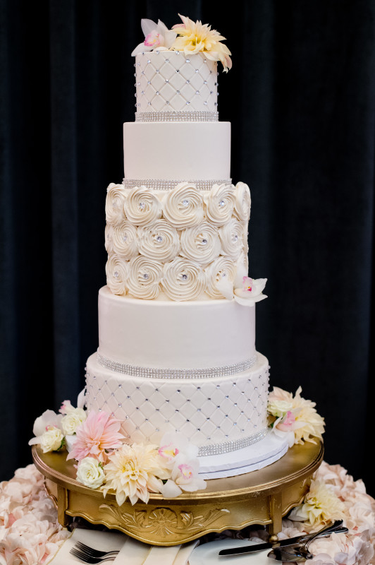 Hotel Monaco Pittsburgh Wedding White Cake