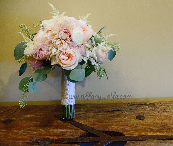 Shakespeare Restaurant Wedding Bridal Bouquet