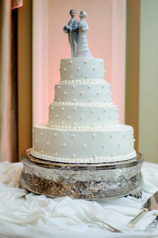 St. Clair Country Club Jenna Wedding Cake