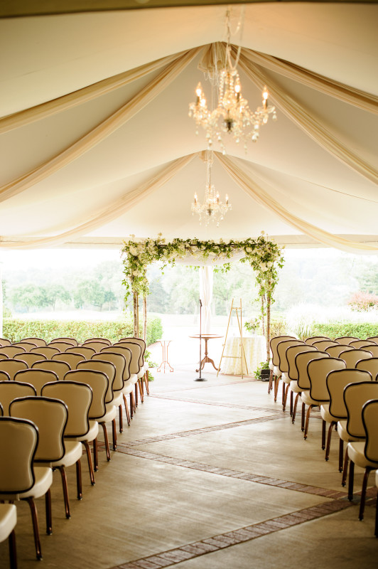 St. Clair Country Club Wedding Ceremony