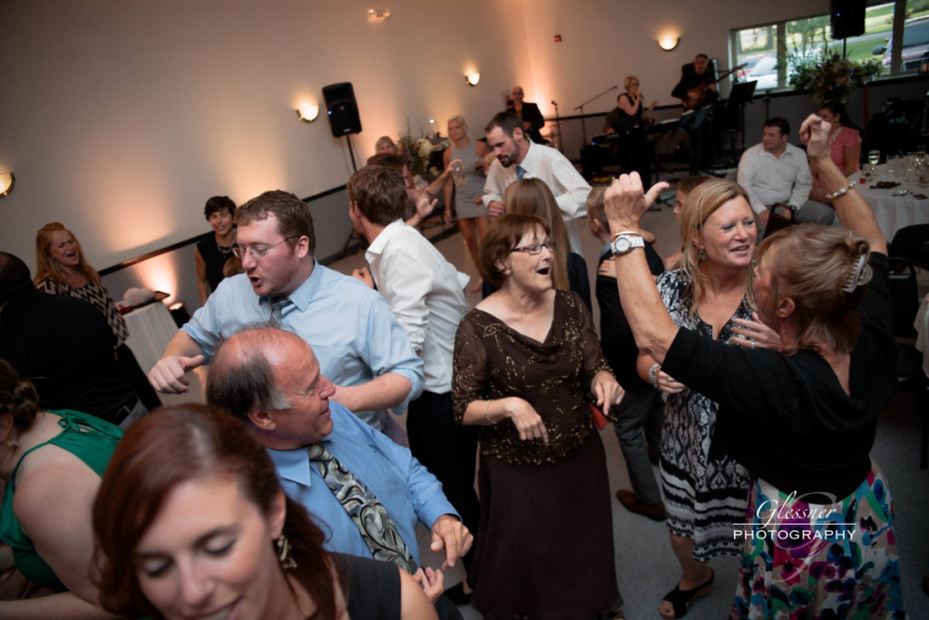 Bakersville Fire Hall Pittsburgh Wedding Guests Dancing to Music