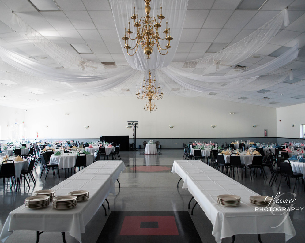 Bakersville Fire Hall Pittsburgh Wedding Overview of Venue