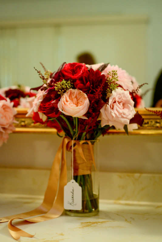 Parkersburg Country Club West Virginia Wedding Bridal Bouquet
