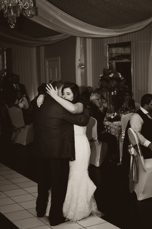 Parkersburg Country Club West Virginia Wedding Close Up Dancing