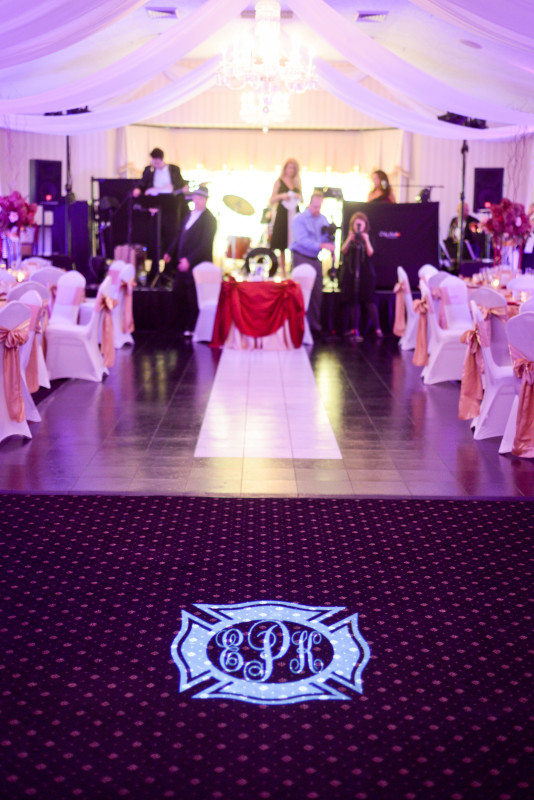 Parkersburg Country Club West Virginia Wedding Band at Reception