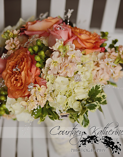 Blair County Convention Center Pittsburgh Wedding Bridal Bouquet