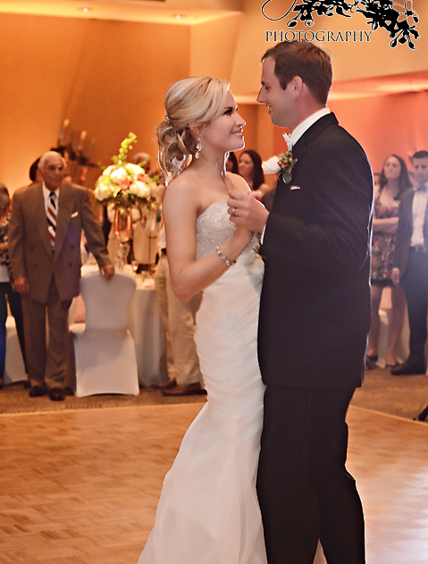 Blair County Convention Center Pittsburgh Wedding Bride and Groom Dance