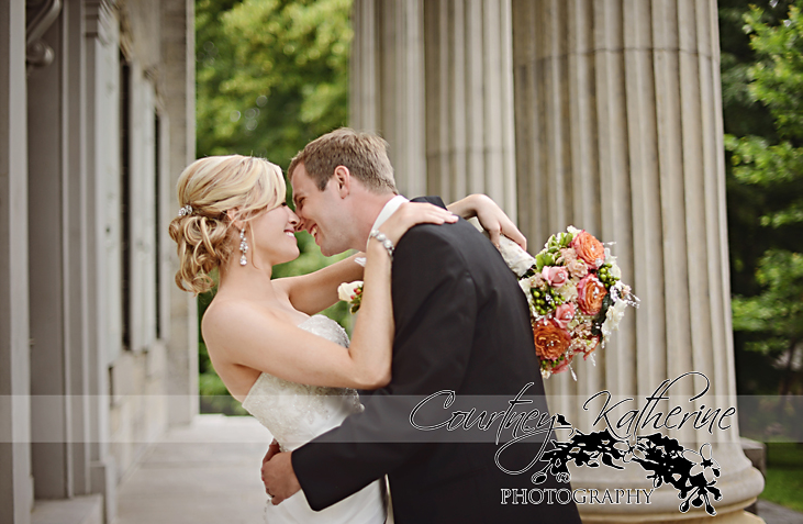 Blair County Convention Center Pittsburgh Wedding Bride and Groom