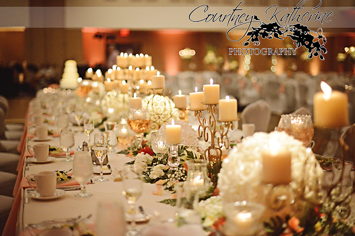 Blair County Convention Center Pittsburgh Wedding Floral Arrangements
