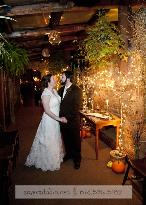 Green Gables Restaurant Pittsburgh Wedding Bride and Groom at Reception