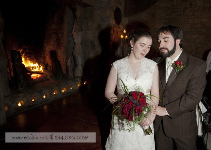 Green Gables Restaurant Pittsburgh Wedding Newlyweds