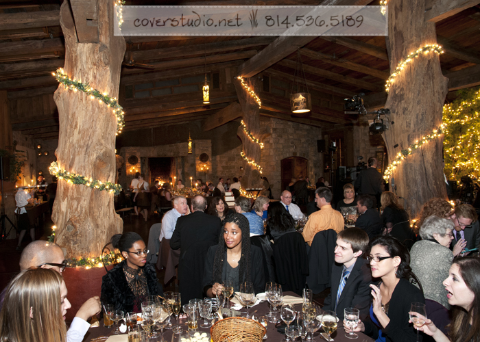 Green Gables Restaurant Pittsburgh Wedding Sit Down Dinner