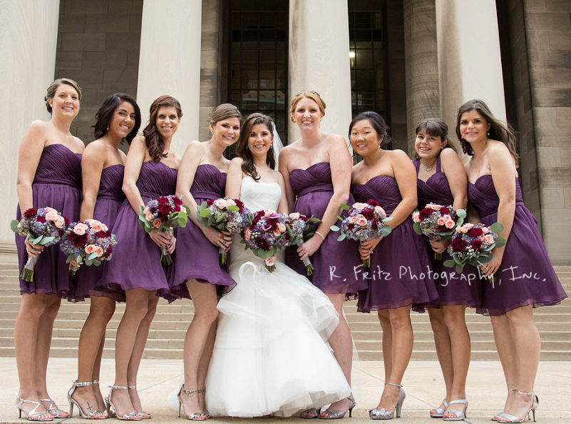 University Club Pittsburgh Wedding Bridal Court
