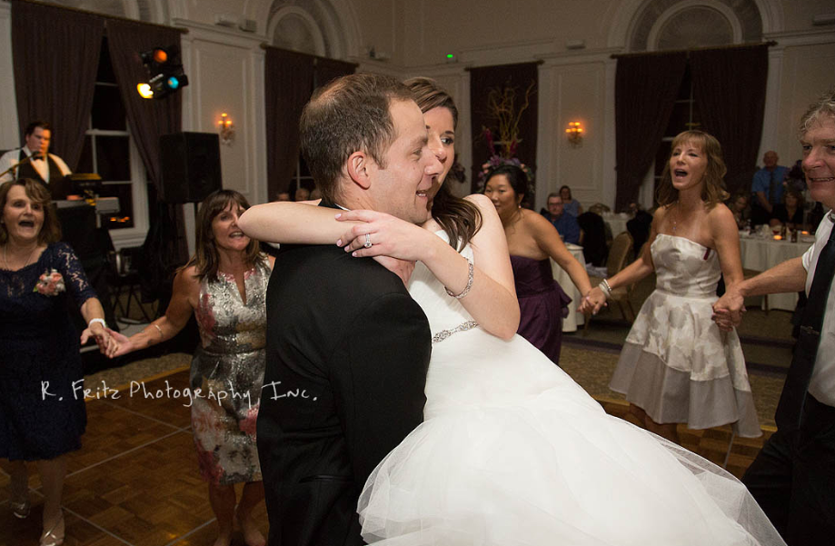 University Club Pittsburgh Wedding Couple Dancing