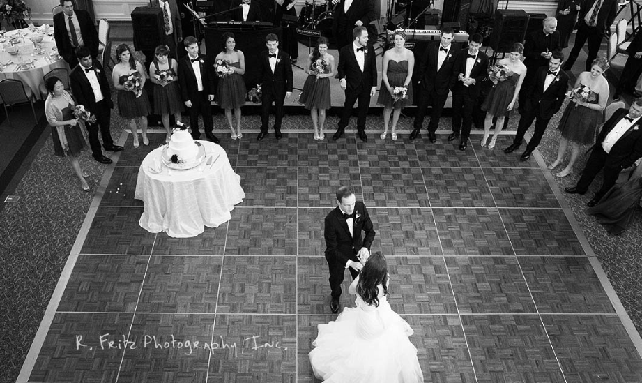 University Club Pittsburgh Wedding Bride and Groom Dance