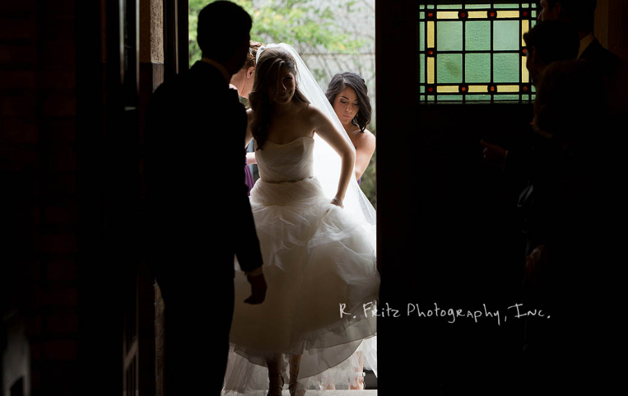 University Club Pittsburgh Wedding Bride Entrance