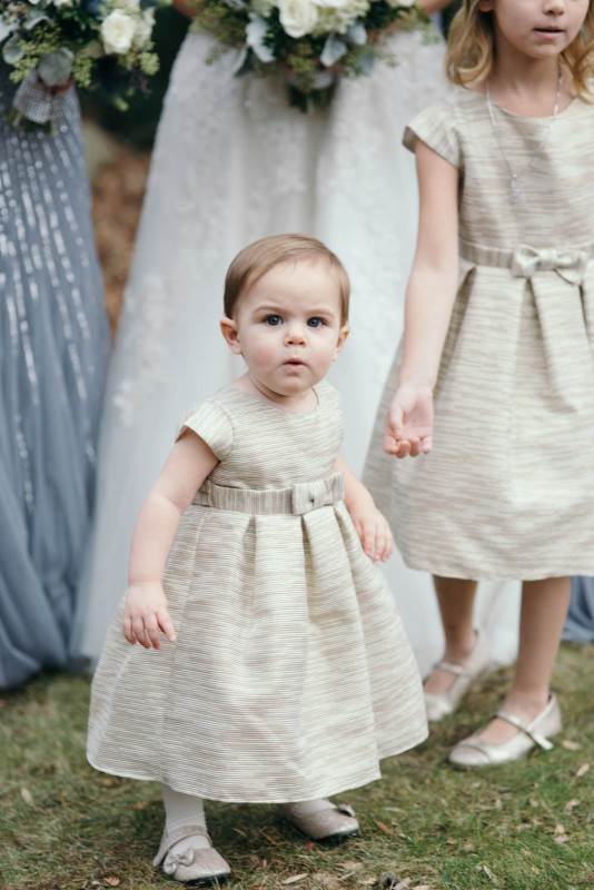 Country Club Pittsburgh Wedding Baby Flower Girl