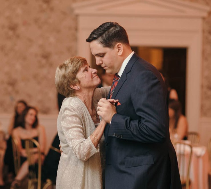 Country Club Pittsburgh Wedding Groom and Mother Dance
