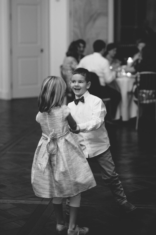 Country Club Pittsburgh Wedding Girl and Boy Dancing