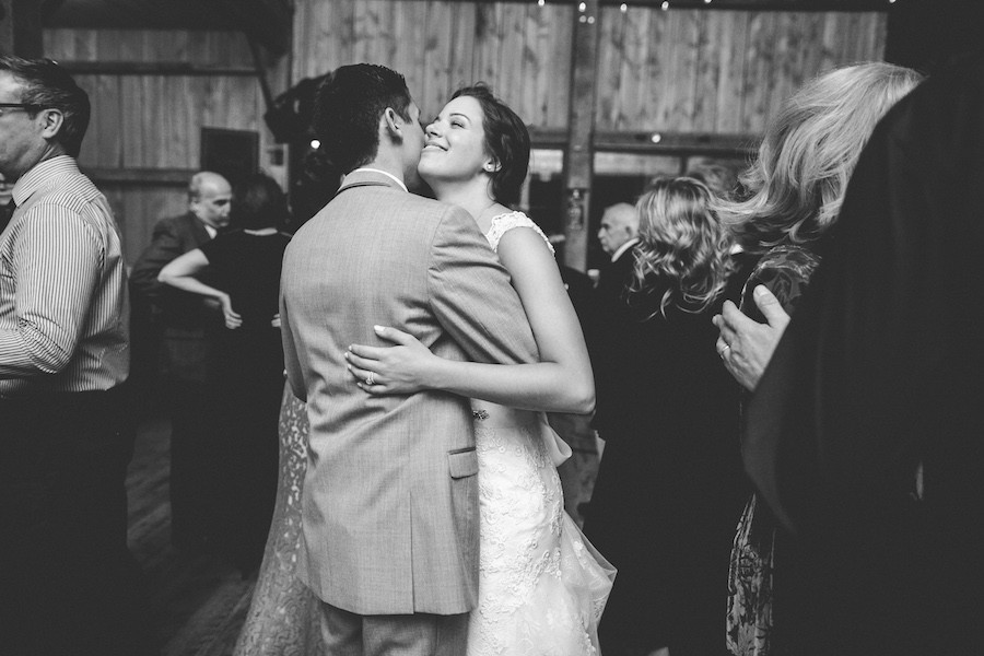 White Barn Pittsburgh Wedding Bride and Groom Dancing