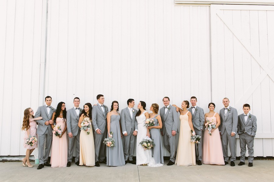 White Barn Pittsburgh Wedding Bridal Court
