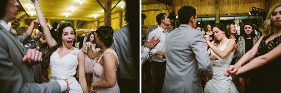 White Barn Pittsburgh Wedding Guests Dancing