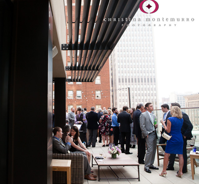 Hotel Monaco-Pittsburgh-Wedding-Rooftop-Cocktails