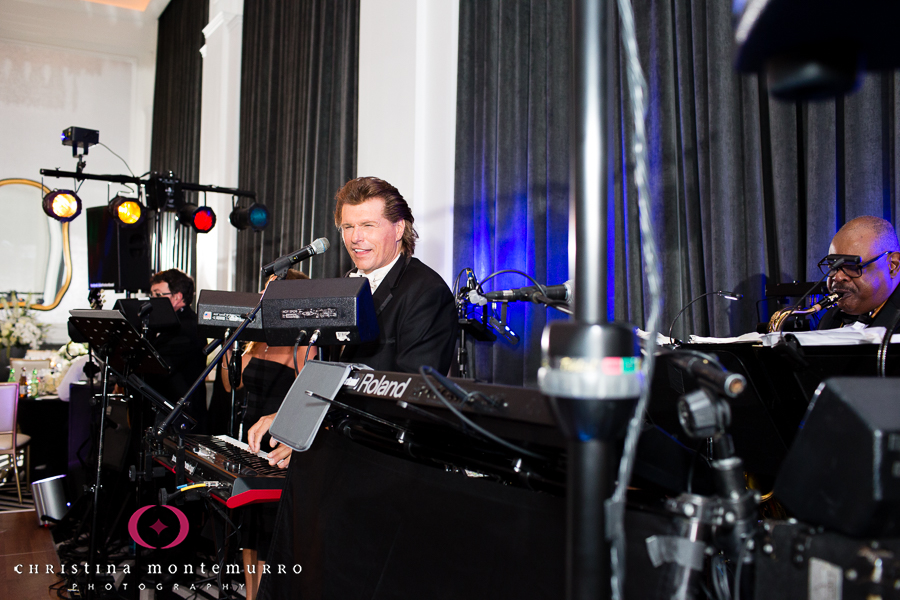 Hotel Monaco-Pittsburgh-Wedding-John Parker-Performing