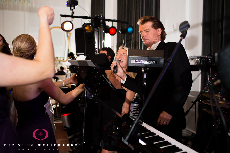 Hotel Monaco-Pittsburgh-Wedding-Guest-Singing