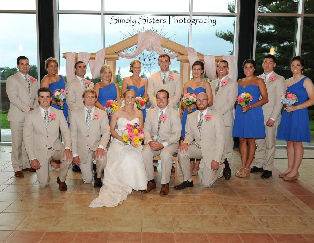 Memorial Hall Pittsburgh Wedding Formal Shot Bridal Party