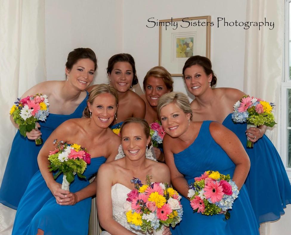 Memorial Hall Pittsburgh Wedding Formal Bridesmaids