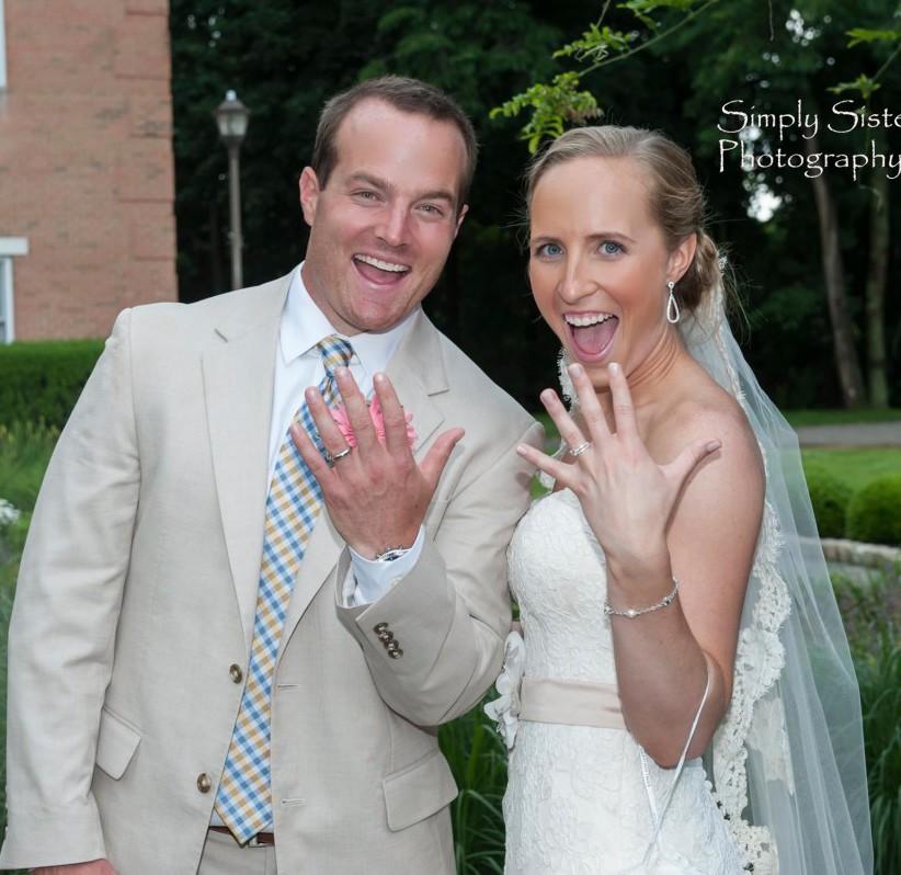 Memorial Hall Pittsburgh Wedding Showing Wedding Rings