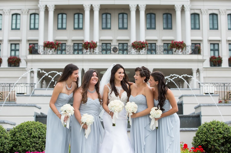Nemacolin Woodlands Pittsburgh Wedding Formal Bridesmaids
