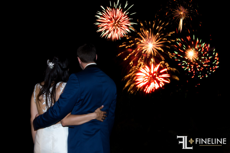 Nemacolin Woodlands Pittsburgh Wedding Fireworks Display
